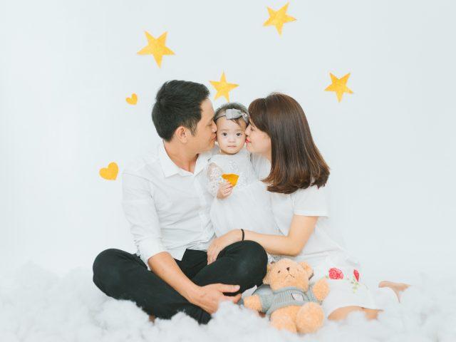 Chụp hình đẹp cho bé và gia đình Đà Nẵng