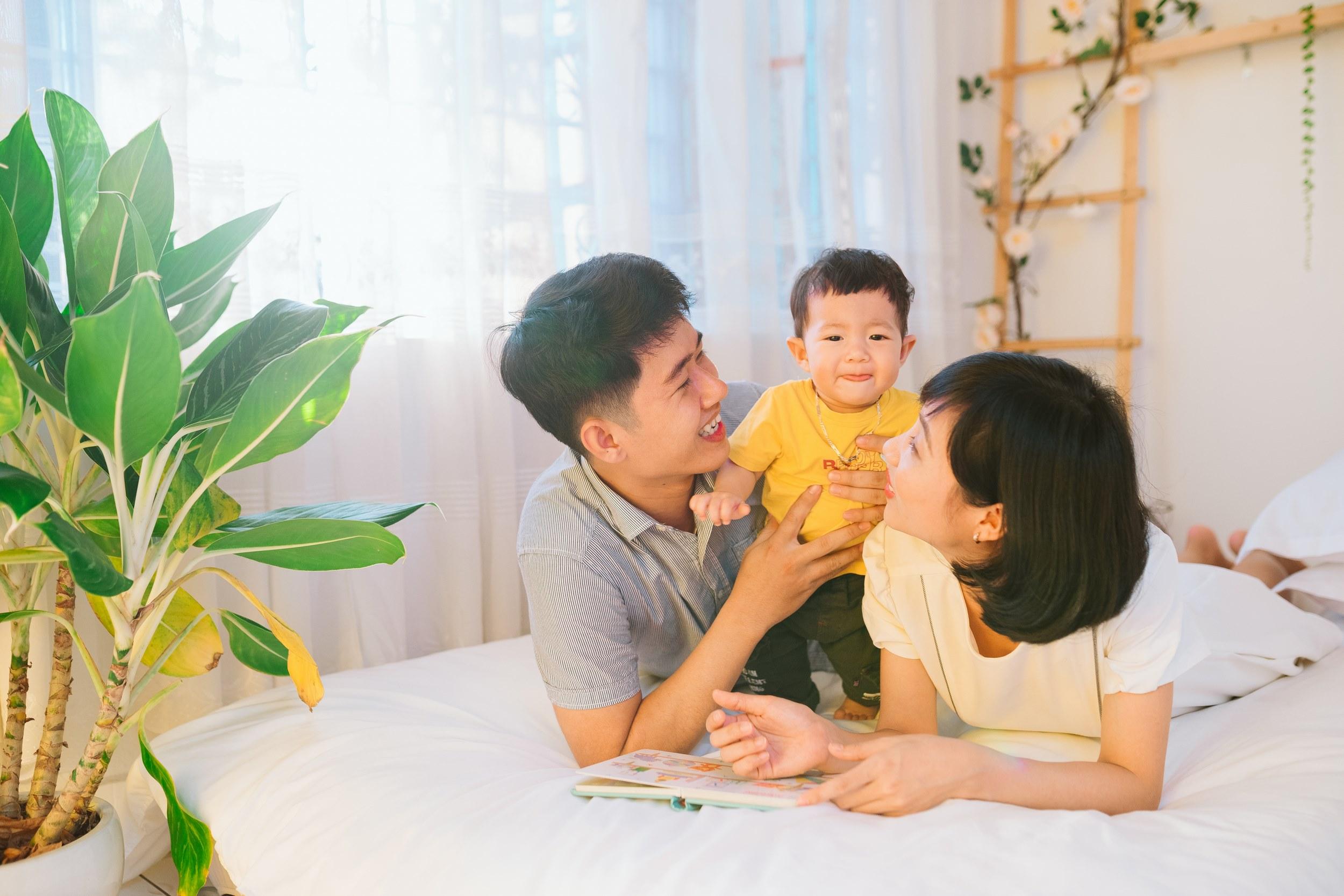 Chụp hình gia đình đẹp tại iBaby Studio Đà Nẵng