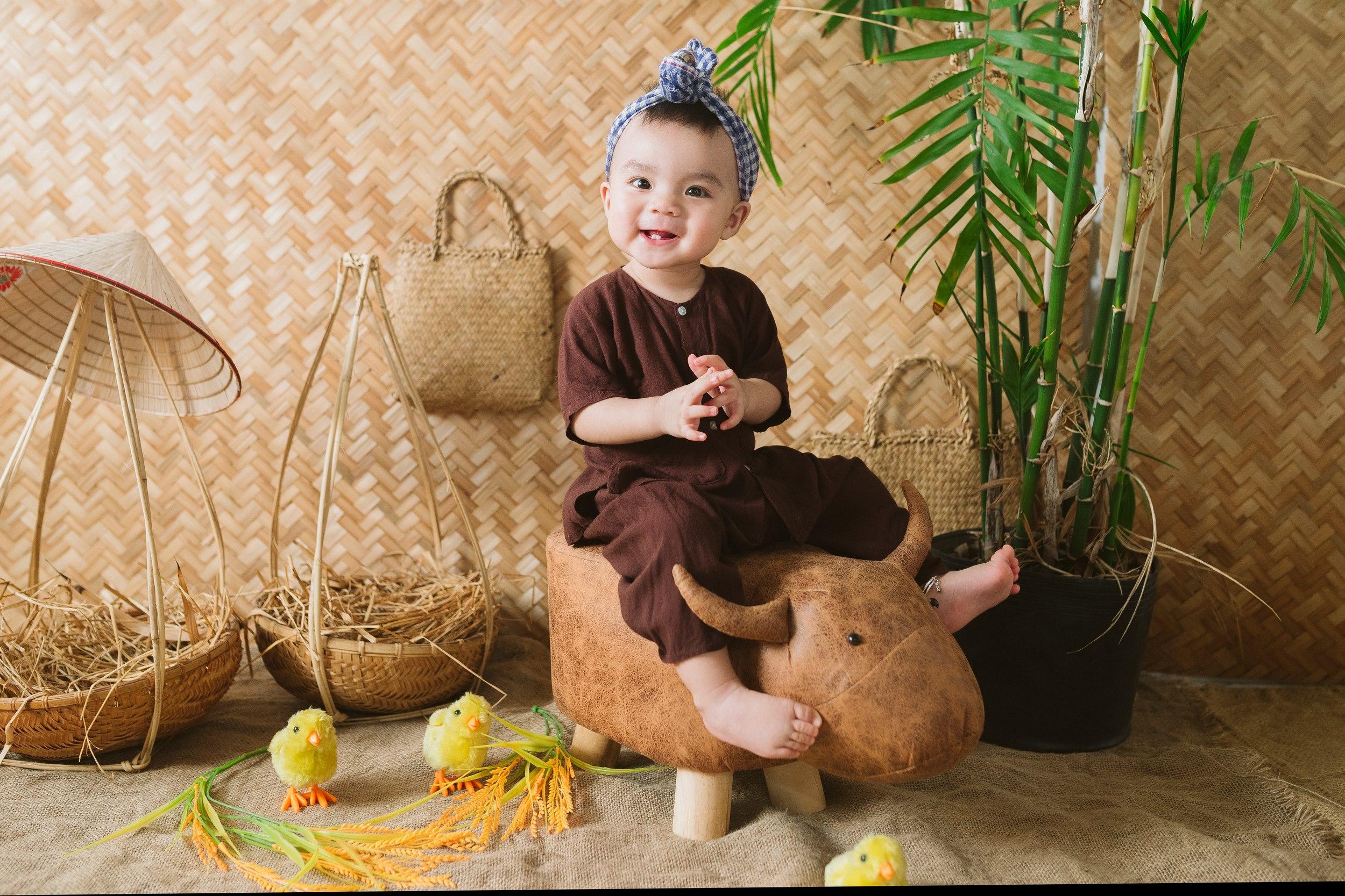 Chụp hình sinh nhật cho bé tại iBaby Studio Đà Nẵng