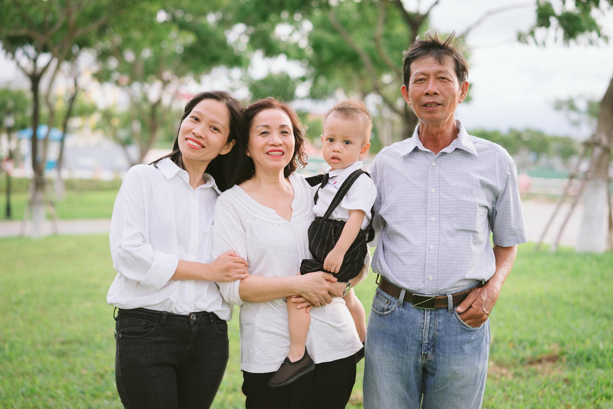 iBaby Studio chụp ảnh cho bé và gia đình ngoại cảnh Đà Nẵng